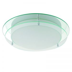 Plafoniera Searchlight Bathroom Clear