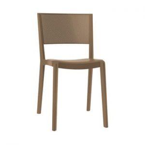 Set 2 scaune de grădină Resol Spot, maro