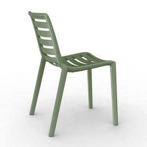 Set 2 scaune de grădină Resol Slatkat, verde măsliniu