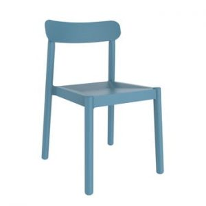 Set 4 scaune de grădină Resol Elba, albastru