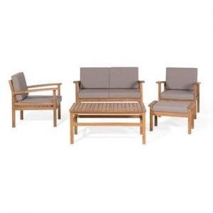 Set mobilier de grădină din lemn de acacia Monobeli Seaside