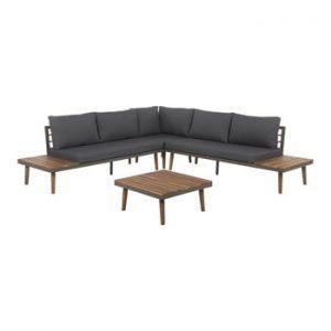 Set mobilier de grădină din lemn de salcâm Monobeli Harrare