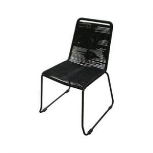 Set 4 scaune de grădină Ezeis Clipper, negru