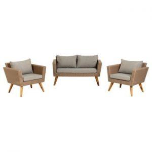 Set 2 fotolii și canapea La Forma Sumie