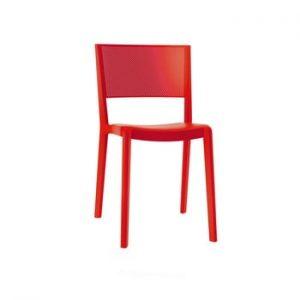 Set 2 scaune de grădină Resol Spot, roșu