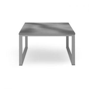 Masă adecvată pentru exterior, în decor de beton Calme Jardin Nicea, lungime 70 cm, gri - gri