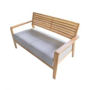Canapea de grădină din lemn de tec Ezeis Aquariva