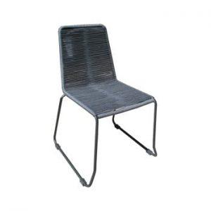 Set 4 scaune de grădină Ezeis Clipper, gri