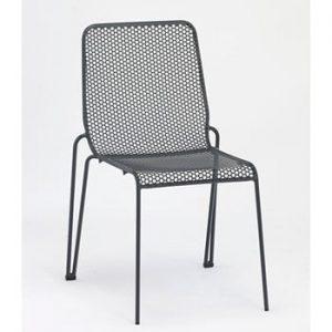 Set 4 scaune de grădină Ezeis Ambroise, gri