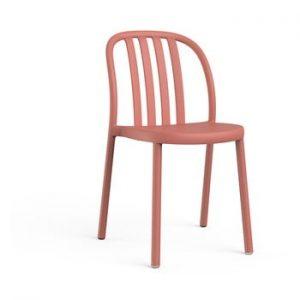 Set 2 scaune de grădină Resol Sue, portocaliu cărămiziu