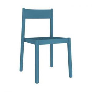 Set 4 scaune de grădină Resol Danna, albastru