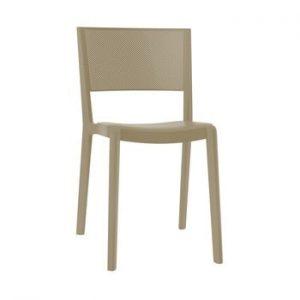 Set 2 scaune de grădină Resol Spot, maro nisipiu