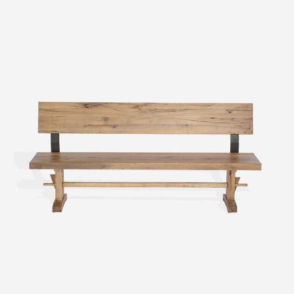 Banca din lemn de stejar salbatic Pfeiffer