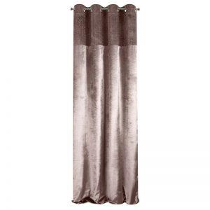 Draperie Mady Velvet Aramiu / Argintiu, 140 x 250 cm, 1 bucata