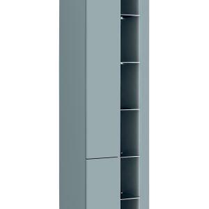 Dulap baie inalt cu rafturi si 2 usi, Bahama Mint, l45xA33xH170 cm