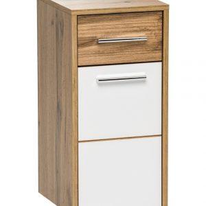 Dulap baie suspendat cu 1 usa si 1 sertar, Ibiza White, l30xA33xH63 cm