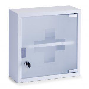 Dulap pentru medicamente, Metal White, l30xA12xH30 cm