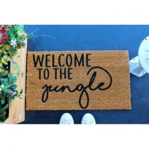 Pres Doormat Jungle, 70 x 40 cm