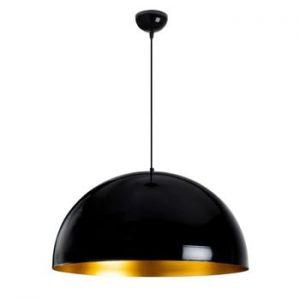 Plafoniera Opviq lights Berceste, ø 60 cm, negru