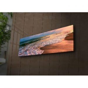 Tablou cu LED-uri Gaia, 90 x 30 cm