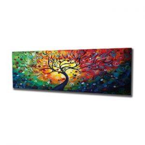 Tablou pe panza Tree, 80 x 30 cm