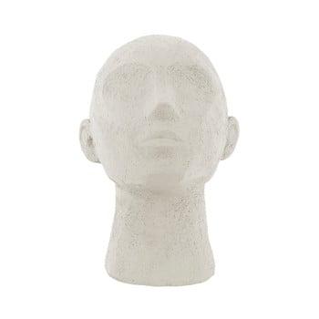 Statueta decorativa PT LIVING Face Art, inaltime 22,8 cm, alb fildes