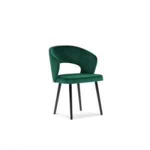 Scaun cu invelis de catifea Windsor & Co Sofas Elpis, verde