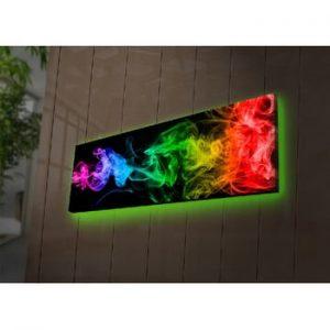 Tablou cu LED-uri Hefaistos, 90 x 30 cm