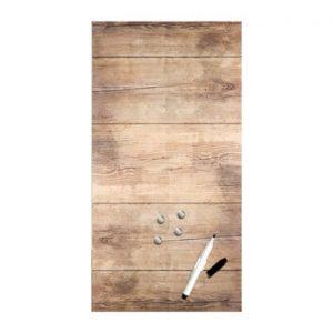 Tabla magnetica Styler Wood, 30 x 60 cm