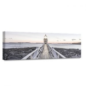 Tablou Styler Canvas By The Sea Beacon View, 45 x 140 cm
