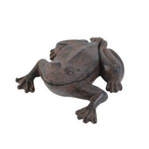 Decoraţiune cu spaţiu de depozitare chei Antic Line Frog