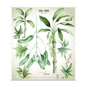 Set autocolante de perete Dekornik Jungle Botanics