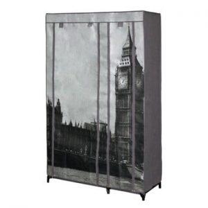 Dulap textil JOCCA London, 160 x 105 cm, gri