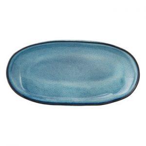 Tava din ceramica Bloomingville Sandrine, albastru