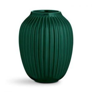 Vaza din ceramica Kähler Design Hammershoi,inaltime 25 cm, verde