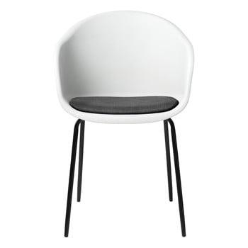 Scaun Unique Furniture Topley, alb-gri