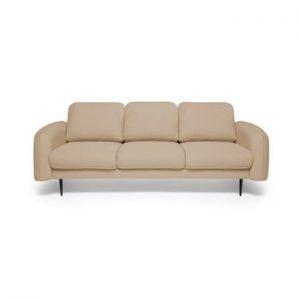 Canapea cu 3 locuri Vivonita Skolm, bej