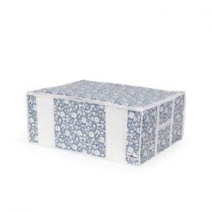 Cutie de depozitare cu vid pentru haine Compactor Signature Vicky, 210 l, albastru