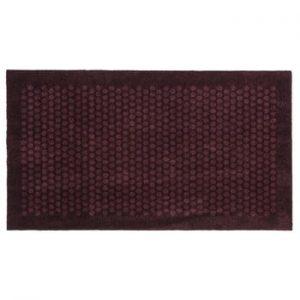 Covoras intrare Tica copenhagen Dot, 67 x 120 cm, grena inchis