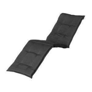 Saltea scaun gradina Hartman Casual, 193 x 63 cm, gri inchis