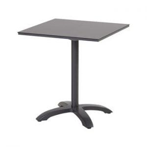 Masa dining de gradina Hartman Romeo, 68 x 68 cm, negru