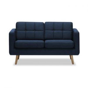 Canapea cu 2 locuri Vivonita Magnus, albastru inchis