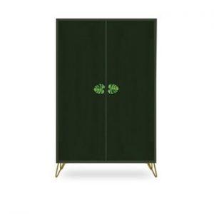 Sifonier din lemn de pin Velvet Atelier, verde