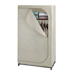 Sifonier textil depozitare Wenko Balance, 160 x 50 x 90 cm, bej