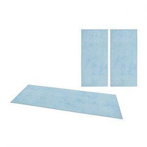 Set 3 covoare Hanse Home Pure, albastru
