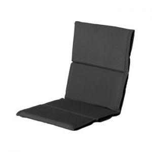 Saltea scaun gradina Hartman Casual, 107 x 50 cm, gri inchis