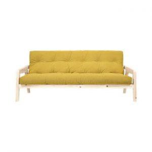 Canapea extensibila Karup Design Grab Raw/Honey