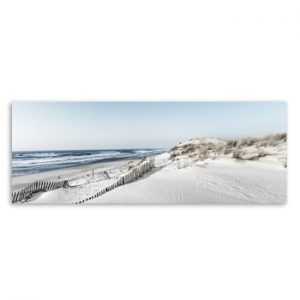 Tablou imprimat pe panza Styler Beach, 150 x 60 cm