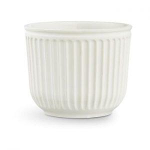 Ghiveci din ceramica Kähler Design Hammershoi Flowerpot, ⌀ 14 cm, alb
