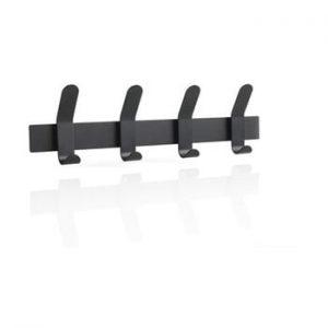 Cuier din otel pentru perete Zone A-Rack, negru